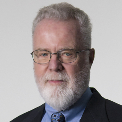 A picture of Board Chair Dr. Stephen L. Weber